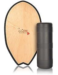 JUCKER HAWAII Balance Board Homerider SURF - Trainer de equilibrio y fitness completo con rollo