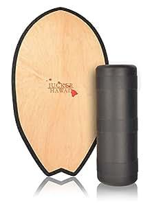 JUCKER HAWAII Balance Board Homerider Surf - Planche de entraînement équilibre avec rouleau