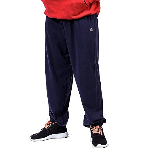 Champion Big & Tall Men's Fleece Pant Cooperstown Bat