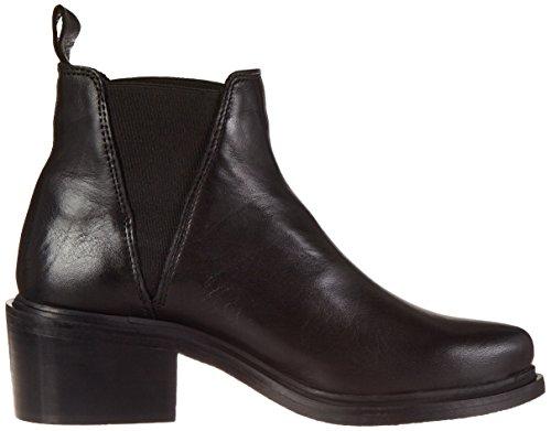 Shoe Biz Boot, Bottes Chelsea Femme Noir (Velvet Black)