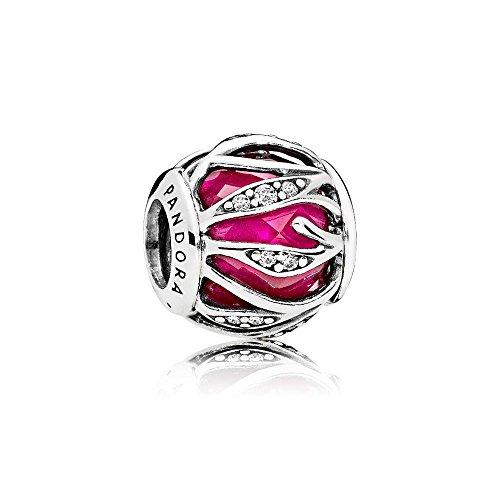 Pandora Charm Blätter-Glanz Pink 791969SRU