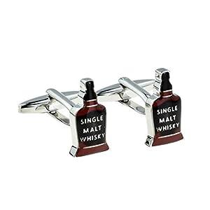 Ashton and Finch Malt Whisky Bottle Manschettenknöpfe