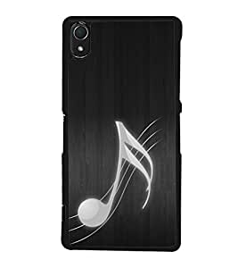 Fuson Premium 2D Back Case Cover Music is Life With Multi Background Degined For Sony Xperia Z3::Sony Xperia Z3 D6653 D6603