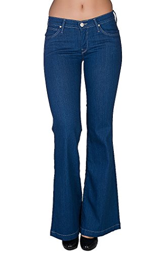 Lee bagliore pantalone Jeans da donna blu L322ENMA, Taille:W24/L31
