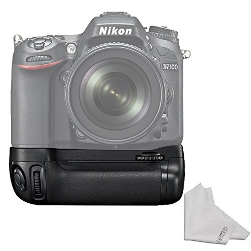 Pixel Vertax D15 Battery Grip Power Pack for Nikon D7100 D7200 Digital SLR Camera (Replacement of Nikon MB-D15) Digital Camera Battery Grip