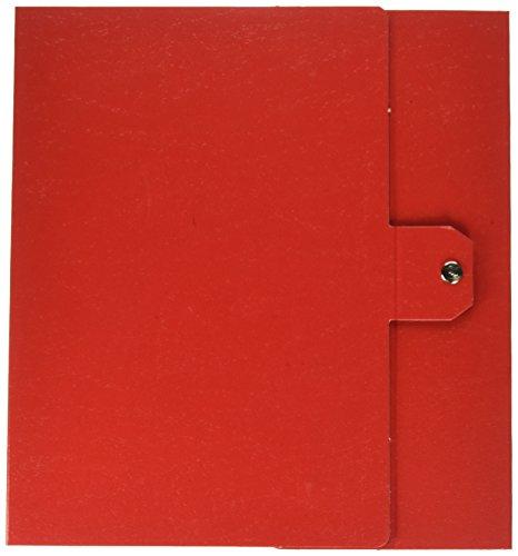 Esselte cartella a scatola per l'archiviazione di documenti a lungo termine, a4, dorso 8 cm, rosso, eurobox, 390328160