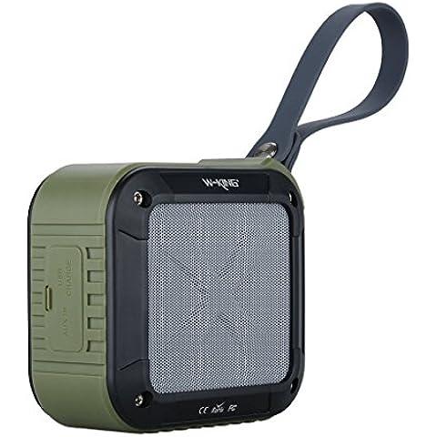 Veetop altavoz bluetooth, bafle bluetooth con micrófono, altavoz bluetooth portátil IPX6 impermeable, compatible para iPhone, Android, Smartphone Windows y Tablets, color