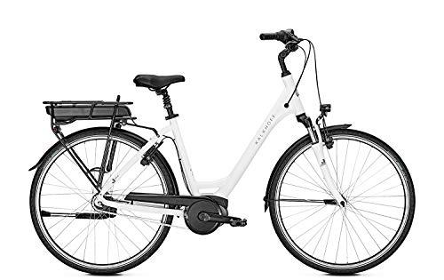 "Kalkhoff Jubilee Advance b7 F E-Bike Pedelec Damen 28\"" 50cm 500Wh Akku Weiß Modell 2018"