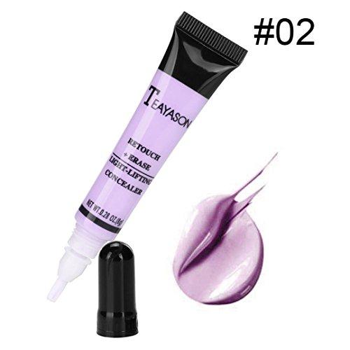 Gaddrt Palette Contour Kit face Eye dissimulateur Liquid Foundation fond crème Pro maquillage (B)