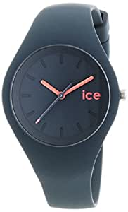 ICE-Watch - ICE.FT.UPK.S.S.14 - Ice Forest - Montre Mixte - Quartz Analogique - Cadran Gris - Bracelet Silicone Gris