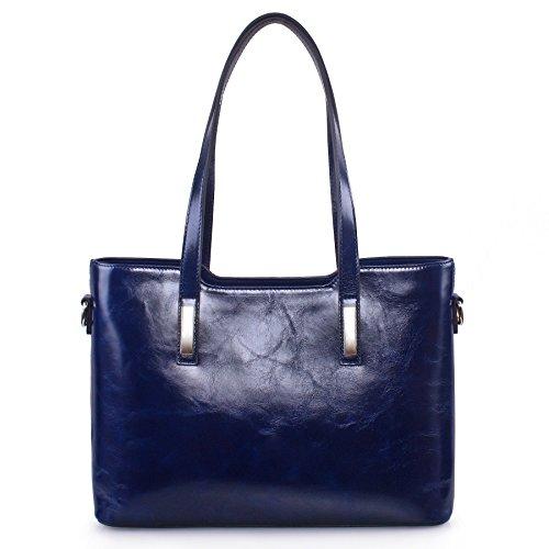 Yafeige , Sac pour femme à porter à l'épaule, bleu (Bleu) - YFG168011-Blue bleu