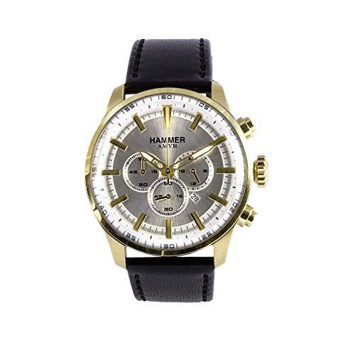 HAMMER AMYR Herren-Armbanduhr Gold H3C60G-05