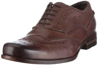 Clarks Goto Wing 203471727, Herren Klassische Halbschuhe, Braun (Ebony Leather), EU 41 (UK 7)