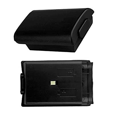 BisLinks® Black Battery Back Cover Replacement Part for Microsoft Xbox 360 by BisLinks®