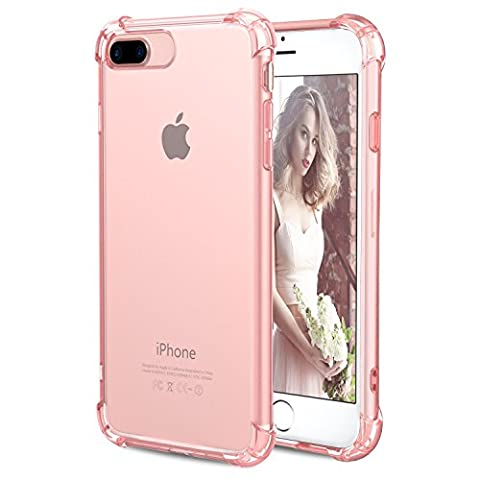 Coque iPhone 7 Plus, [Coussin d'air] [4 Coins Shock-Absorption] Pare-chocs