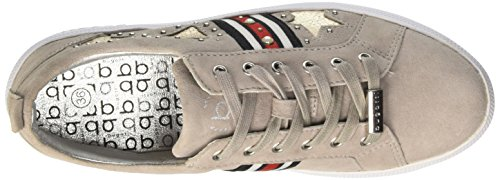 Bugatti Damen 422407013419 Sneaker Grau (Light Grey / Metallics 1290)