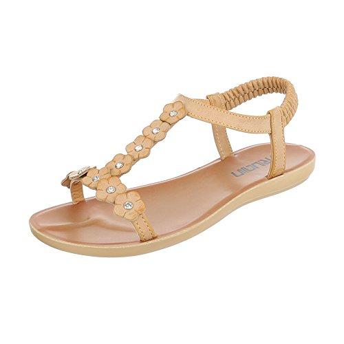 Sandali beige per donna Sentao WHuc8Sk5