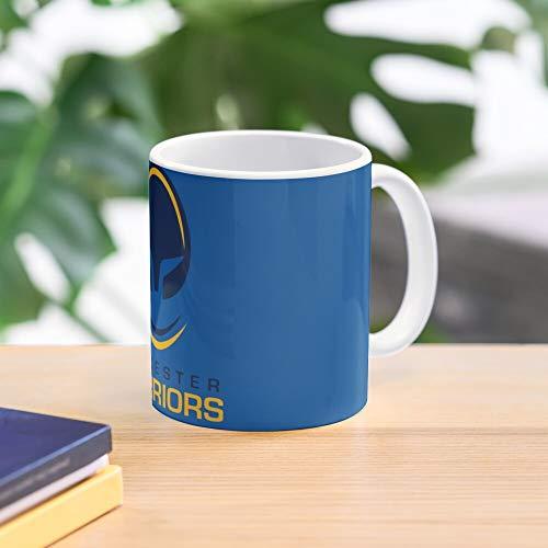 Worcester Rugby Mug Warriors Meistverkaufte Standardkaffee 11 Unzen Geschenk Tassen für alle