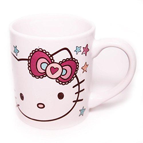 Tasse Keramik Hello Kitty mit Lizenz Sanrio. qel166360Becher Original mit Lizenz Sanrio (Becher Hello Kitty Keramik)