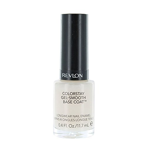 Revlon Colorstay Gel-Smooth Base Coat 0.4 Fl oz by Revlon (Base Coat Revlon)