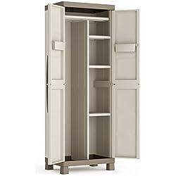 KIS | Armoire Utilitaire EXCELLENCE, Sable/Terre, Cabinets, 65x45x182 cm