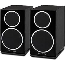 Wharfedale Diamond 220 - Altavoces (Speaker set unit, De 2 vías, Mesa/estante, 56 - 20000 Hz, 8 Ohmio, 86 Db) Madera