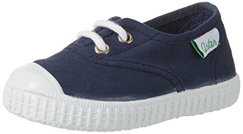 Aster Unisex-Kinder Iggy Slipper Blau (Marine)