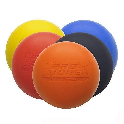 Protone Palla Medica Lacrosse per Riabilitazione Fisioterapia Crossfit by Blu
