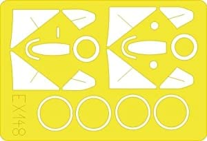 Eduard Accessories ex14830502000Mig de 21pf Fishbed D para Academy de Montar