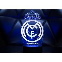 Oficial Escudo del Real Madrid CF Lámpara original accesorios de 2017- 2018  y mejor regalo a97228ad20694