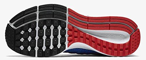 Nike Zoom Pegasus 32 (Gs) Scarpe da ginnastica, Bambine e ragazze azzurro - rosso