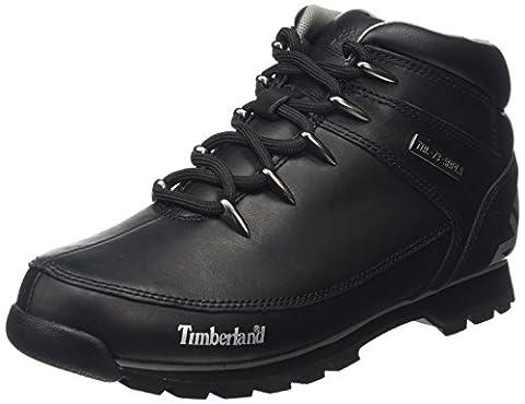 Timberland Euro Sprint Hiker, Bottes Chukka Hommes, Noir (Black), 44 EU