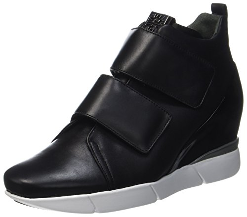 Högl Damen 4-10 2730 0100 Hohe Sneaker Schwarz (Schwarz)