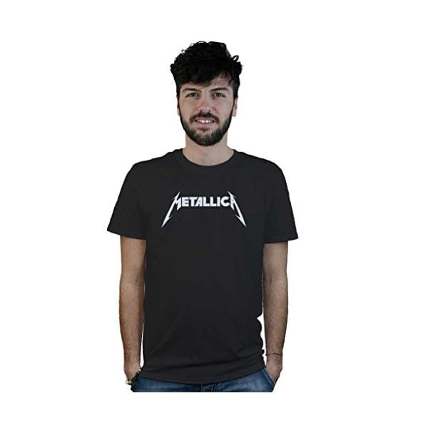 Shirt T Shop MetalMaglietta Heavy Vinile Rock Musica Trash xCedBor