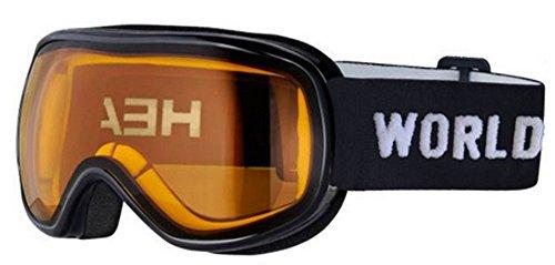 HEAD Kinder Ninja Skibrille, White/Black, One Size
