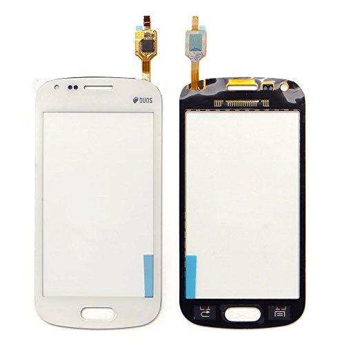 ixuan für Samsung Galaxy S Duos GT S7560 S7562 Display Touchscreen Digitizer Frontglas ( Ohne LCD ) Ersatzteile ( Weiß - Duos Screen-ersatz Galaxy S