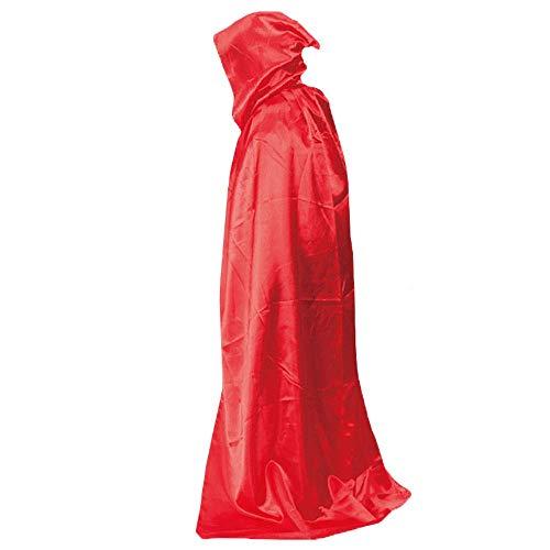 YaPin Halloween Kinderbekleidung COS Vampir Wizard Wischt Männer Tod Cloak Female Adult Cloak Tail (Color : Red)