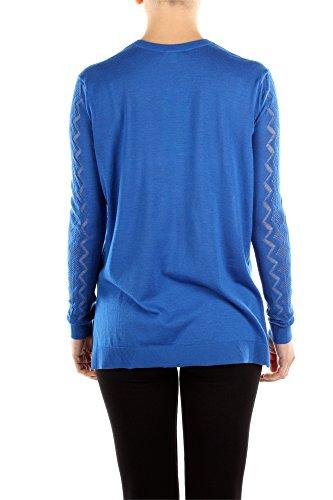 8022TO40174K02 Kenzo Pull Femme Laine Bleu Bleu