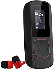 Energy Sistem MP3 Clip Bluetooth (Wireless MP3 music player with LCD screen, 8 GB, microSD card, FM radio and