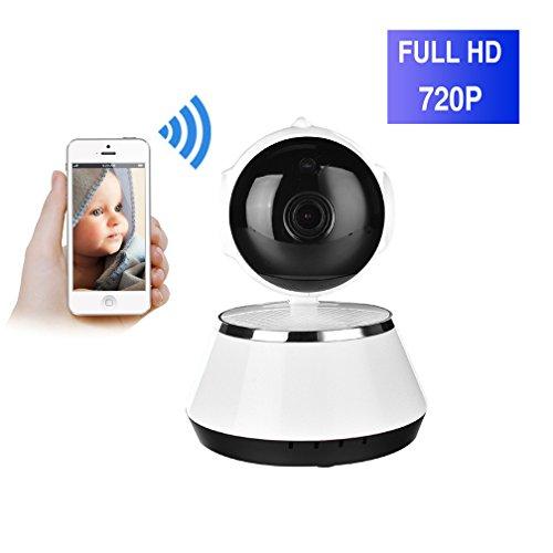 ShengyaoHul Wi-Fi Intégré Caméra De Surveillance Ip, 720P HD Indoor Système De Sécurité Ip Home Camera, Suivi De Came Avis Push Mobile / Réduction Du Bruit D'Écho 3D