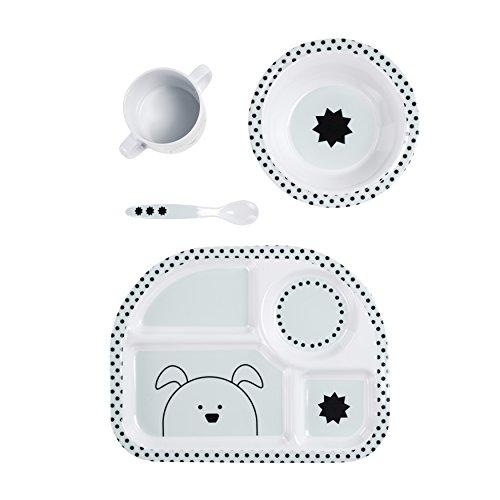Lässig Kindergeschirr mit Silikonboden - 3