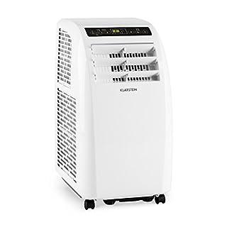 Klarstein Metrobreeze Rom • Klimaanlage • Klimagerät • Ventilator • 10000 BTU/h • 3,0kW • 18-30 °C Temperatur • Zeitsteuerung • Sleep Mode Funktion • Fernbedienung • Bodenrollen • weiß