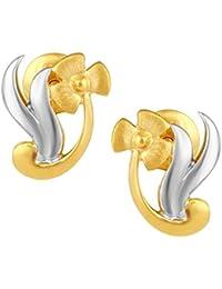 TBZ - The Original 22k Yellow Gold Stud Earrings