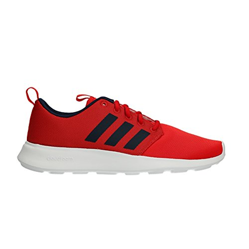adidas Herren Cloudfoam Swift Racer Laufschuhe, Rot (Core Red/Collegiate Navy/Footwear White 0), 42 2/3 EU (Top-herren-tennis-schuhe)