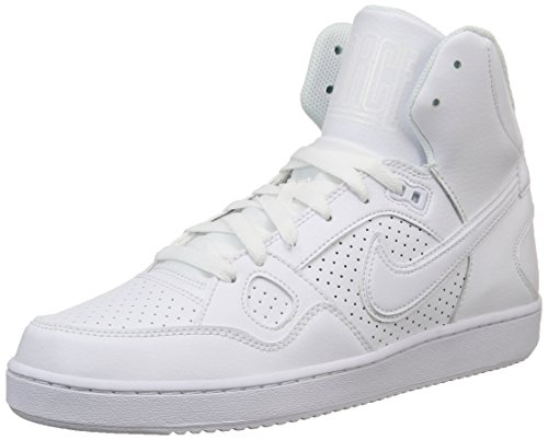 Nike Son Of Force Mid, Herren Hohe Sneakers, Weiß