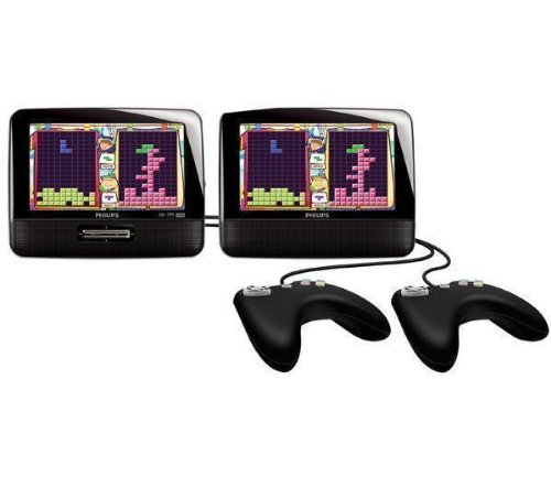PHILIPS PD7032/12 Dual Screen Portable DVD Player with 2 Widescreens LCDs