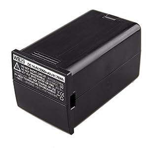Godox AD200WB29pacco batteria 14.4V 2900mAh per Godox AD200Pocket flash