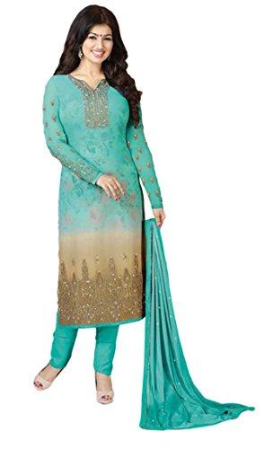 Justkartit Casual Wear 2017 Salwar kameez / Women Straight Cut Salwar Suits...