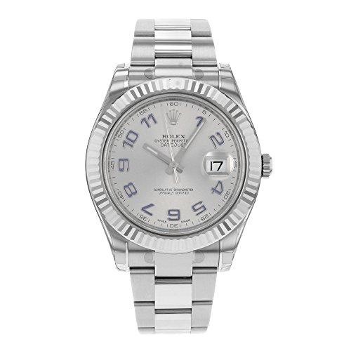 nouveau-rolex-datejust-ii-41-mm-18-k-or-blanc-facade-en-acier-inoxydable-gris-cadran-montre-pour-hom