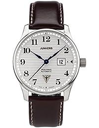 Junkers Herren-Armbanduhr Analog Automatik Leder 6656-1S